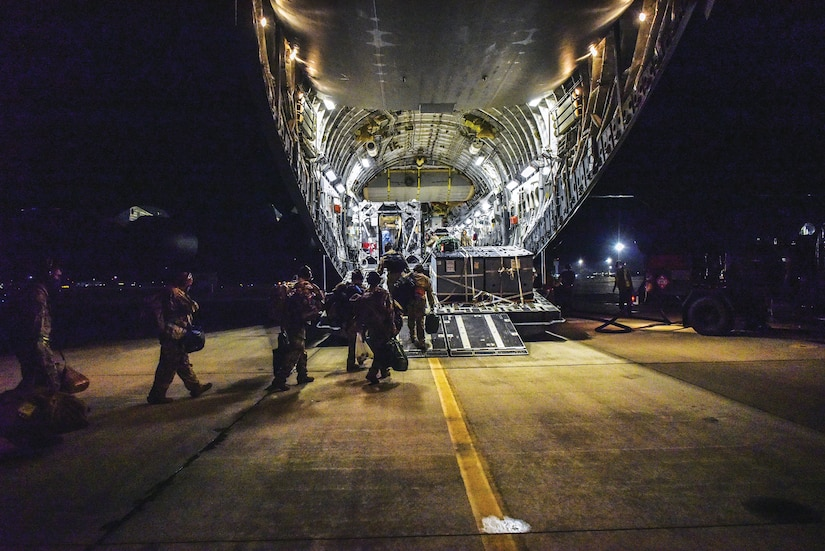 Airmen deployed a Transport Isolation System for the first time in the Indo-Pacific to safely transport a COVID-19 patient. (U.S. Indo-Pacific Command, July 17, 2020)