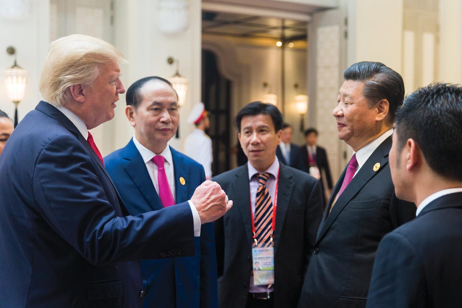 "President Donald J. Trump participates in the APEC Summit   November 11, 2017."" (The White House, November 11, 2017)"