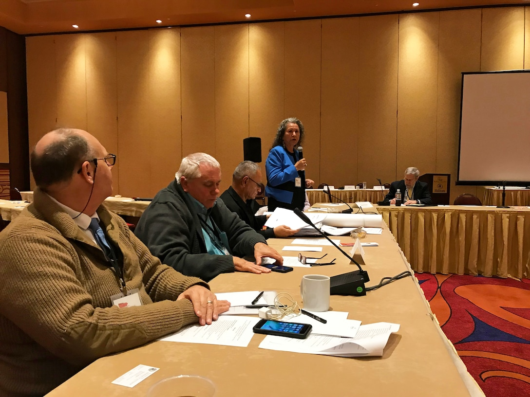 PUEBLO OF POJOAQUE, N.M. – Tribal members and several principal partners of the Western Regional Partnership participate in a Principals Meeting October 2018, hosted by the Pueblo of Pojoaque.