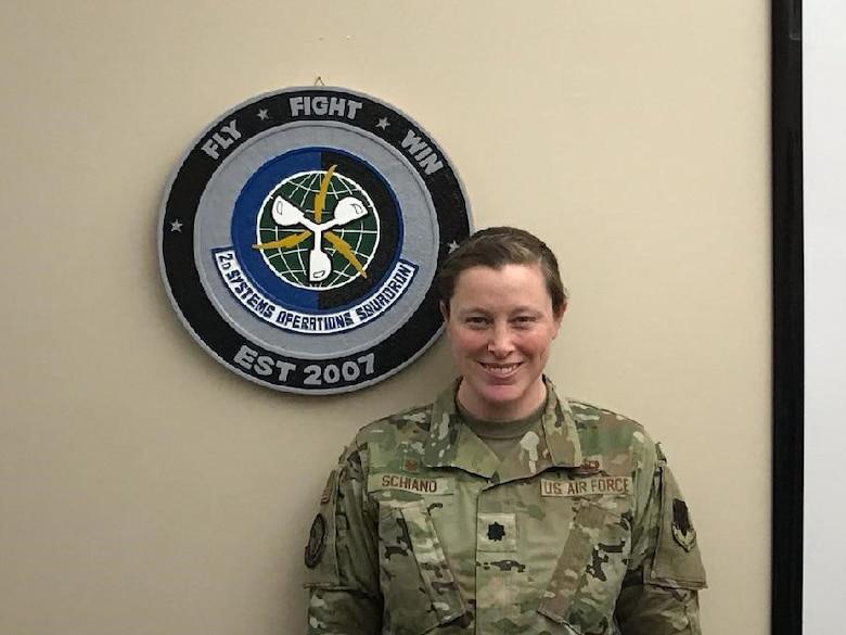 Photo of Lt. Col. Heidi Schiano, 2d Systems Operations Squadron commander.