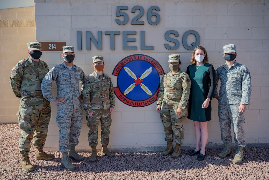 Airmen from 526th IS pose for photo