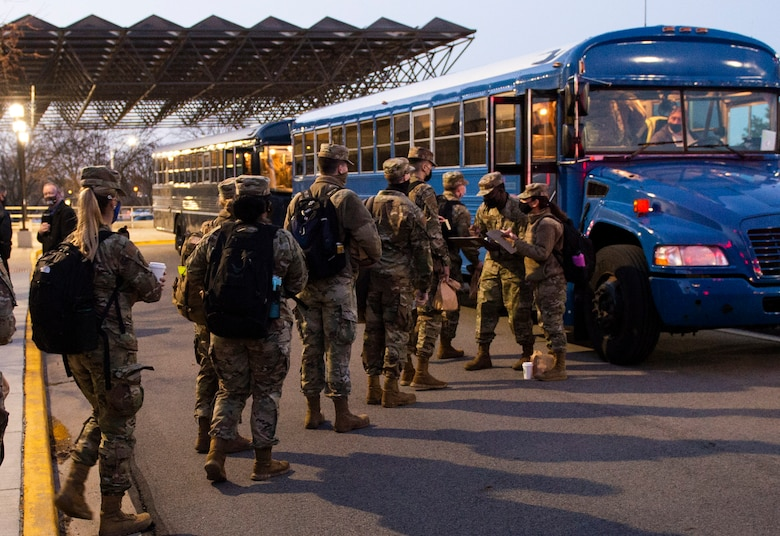 Airmen from the 88th Air Base Wing's Medical Group deployed to Detroit March 19 in support of a Department of Defense COVID-19 vaccination support operation.