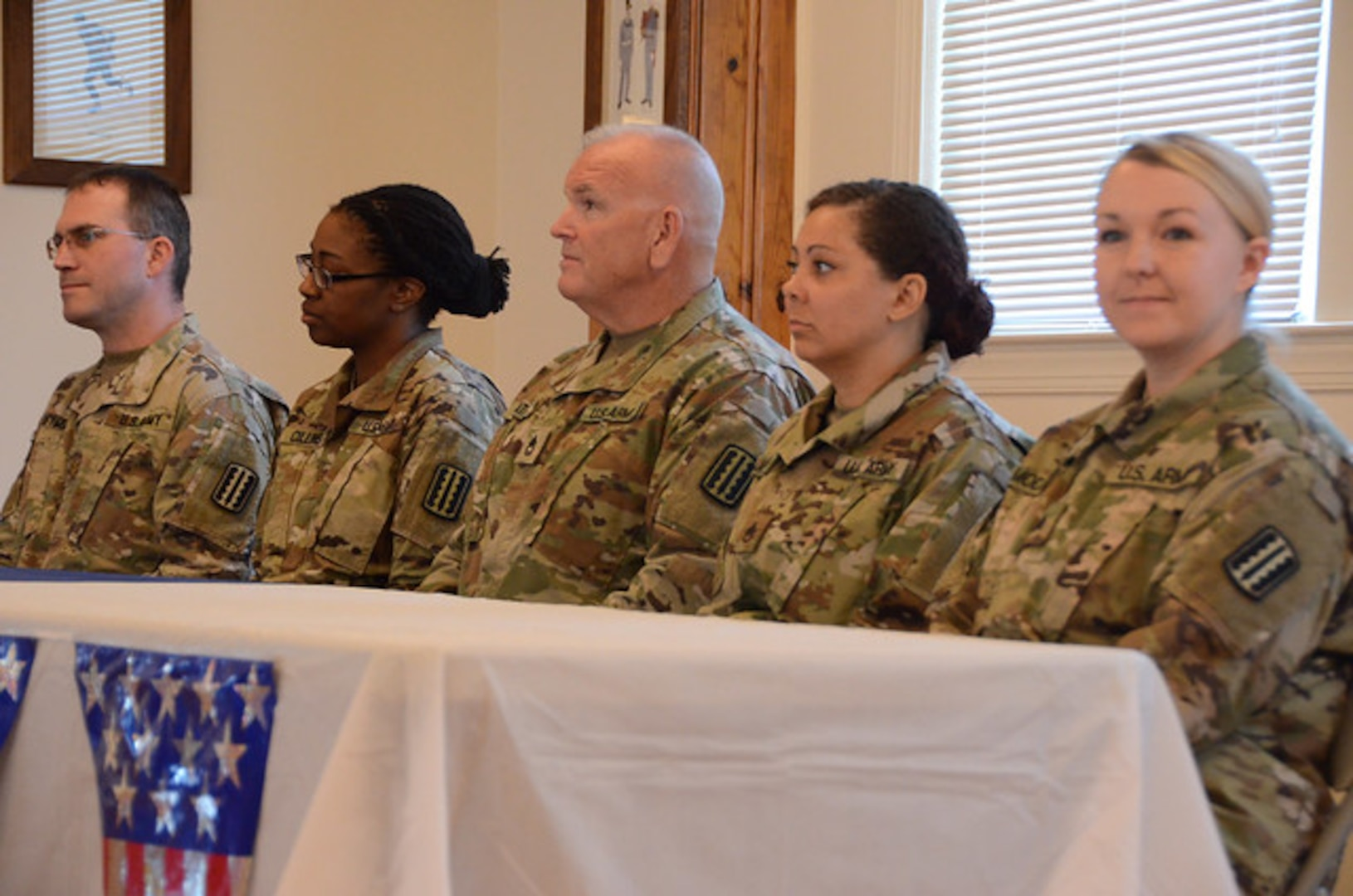 1945th Contracting Team departs for overseas service