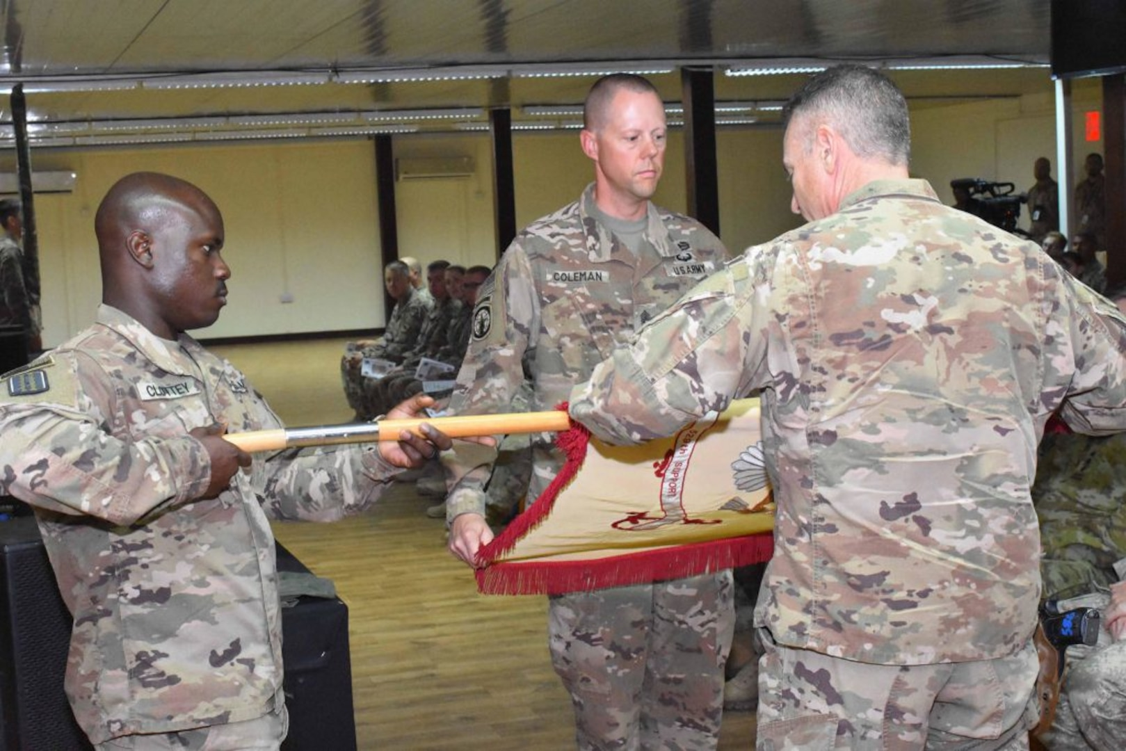 529th CSSB returns from federal active duty