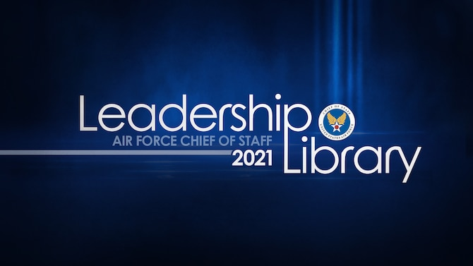 CSAF Leadership Library graphic