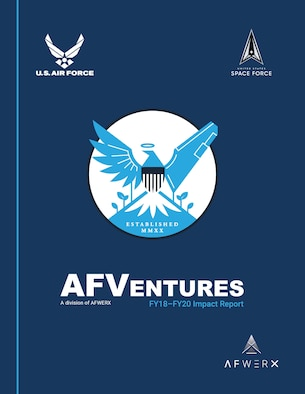 AFVentures, the Department of the Air Force's commercial investment group, has released its fiscal year 2020 annual report. The report details AFVentures' successes in fulfilling its mission of expanding and maintaining the Air Force's innovative capabilities by matching operator needs with private-sector solutions.