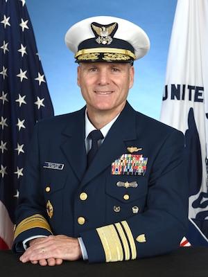 Vice Adm. Michael F. McAllister, Deputy Commandant for Mission Support