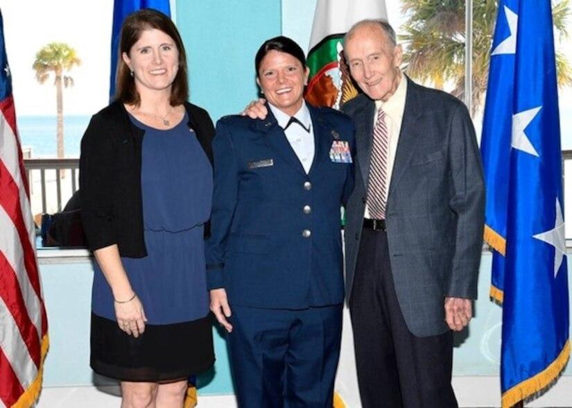 Jennifer Kennedy's promotion to Lt Col.