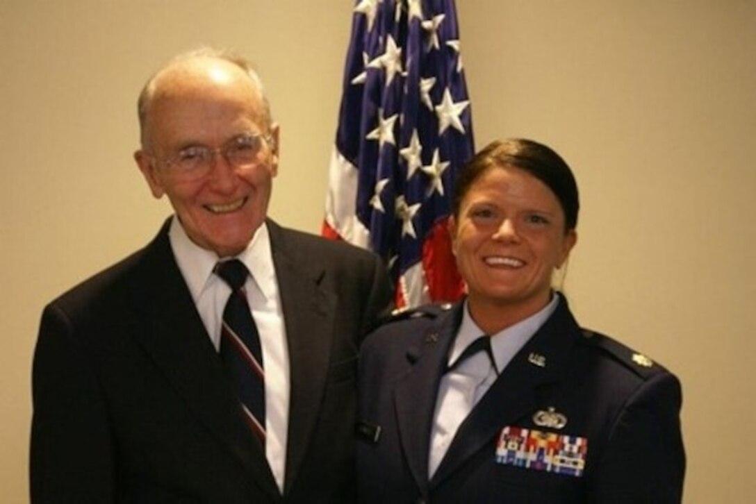 Jennifer Kennedy's promotion to Major.