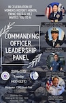 Please join us in celebrating Women's History Month thru a Commanding Officer Leadership Panel brought to you by a collaboration of Women's Leadership Initiative (WLI) and FAPAC-USCG.