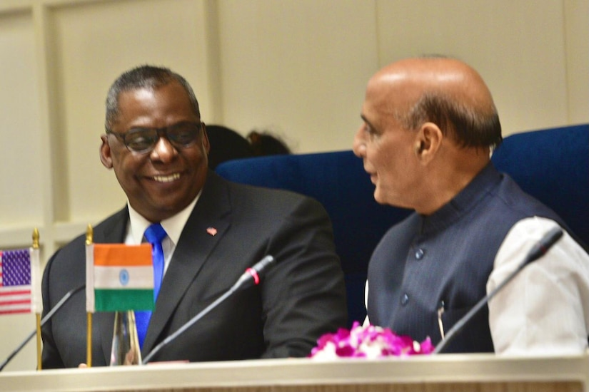 India, U.S. Look at Ways to Grow Partnership to Protect Indo-Pacific