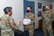 JPPSO Airman receives BTZ promotion