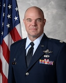 Lt. Col. Michael Kirk, 926th Security Forces Squadron commander, official photo.