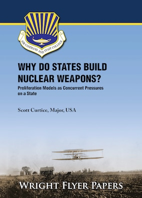 Why Do States Build Nuclear Weapons? Proliferation Models as Concurrent Pressures on a State