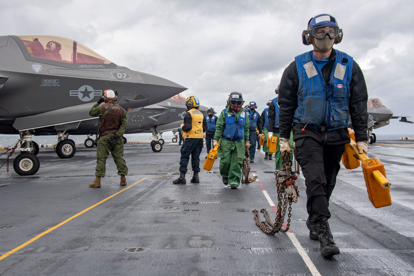 USS America-31st MEU team wins Flatley Award for safety