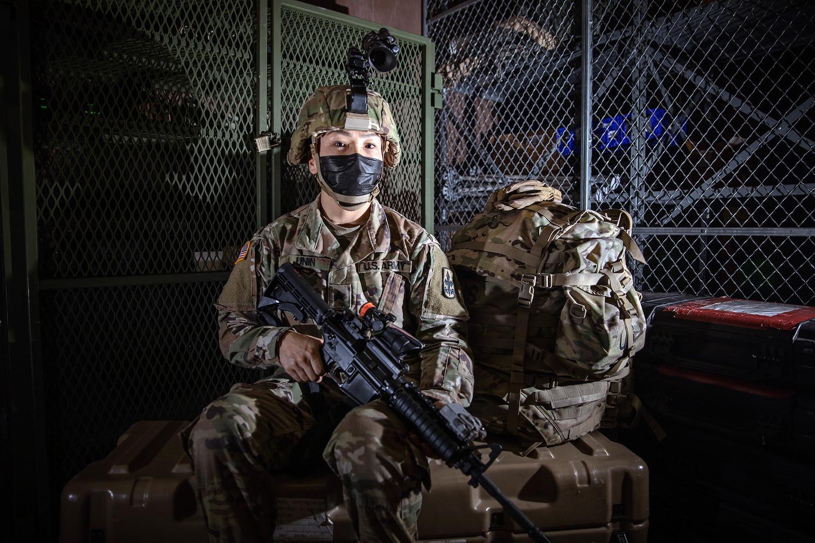 Alaska Army National Guard Infantrywoman Makes History