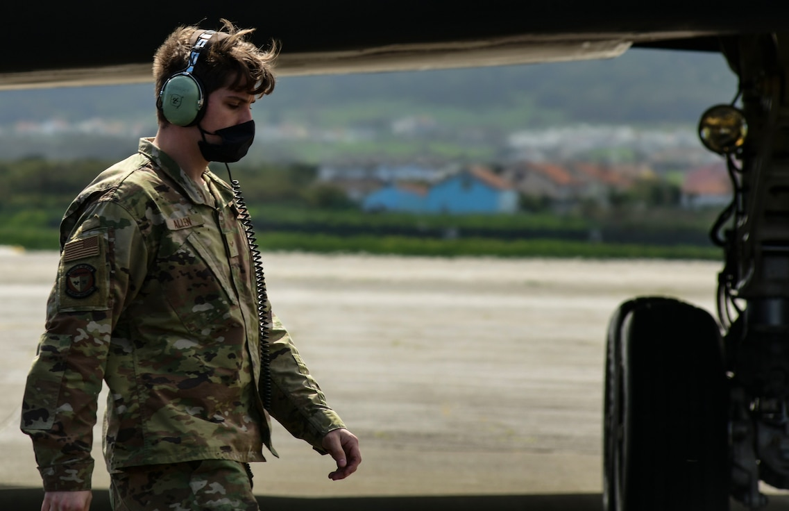 Airmen prepared for a Bomber Task Force Europe deployment by following all recommended guidelines to ensure the 393rd Expeditionary Bomb Squadron could continue being a ready and resilient force during the COVID-19 outbreak.