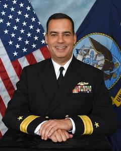 Rear Admiral David Goggins, Program Executive Officer for Submarines