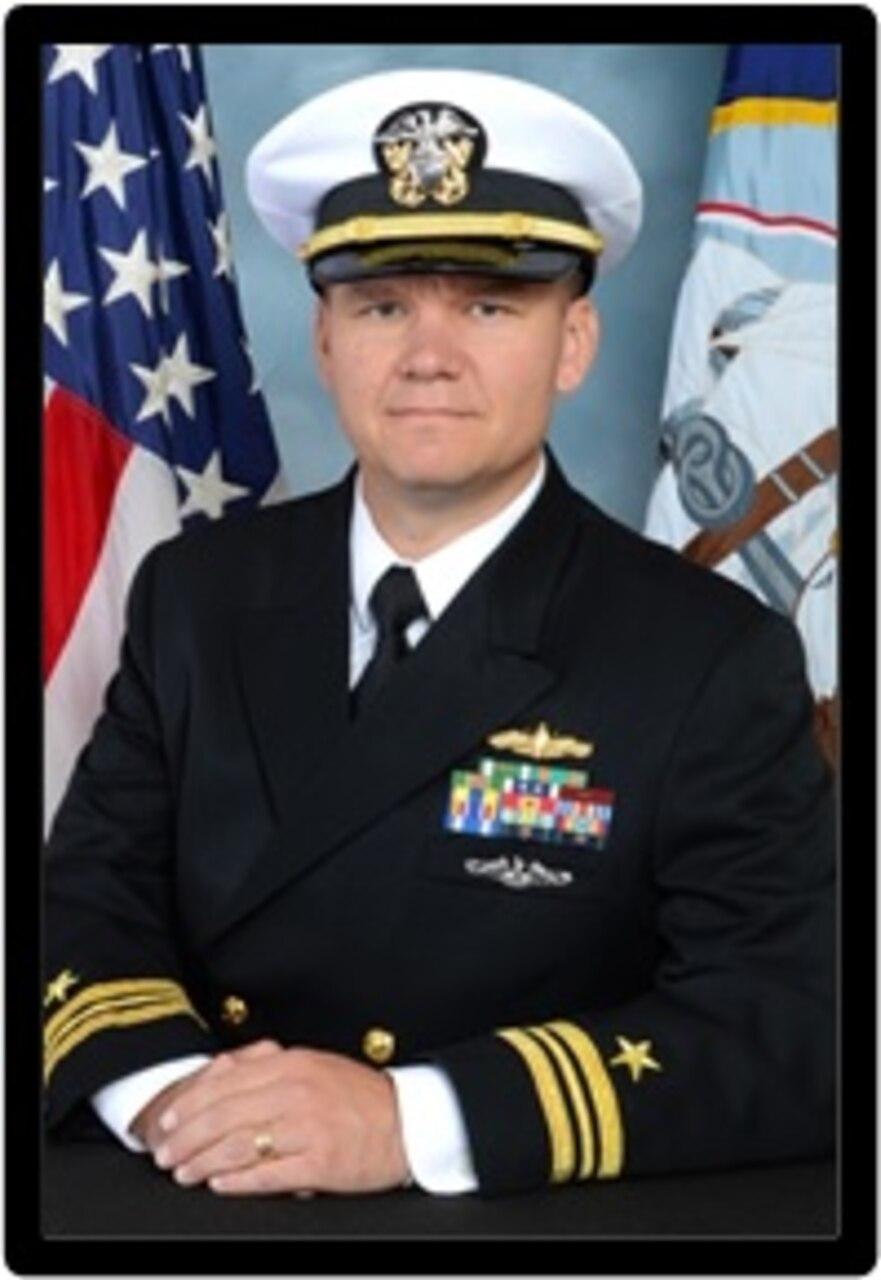 "Lieutenant Commander Gary ""Joe"" Bickel, USN"