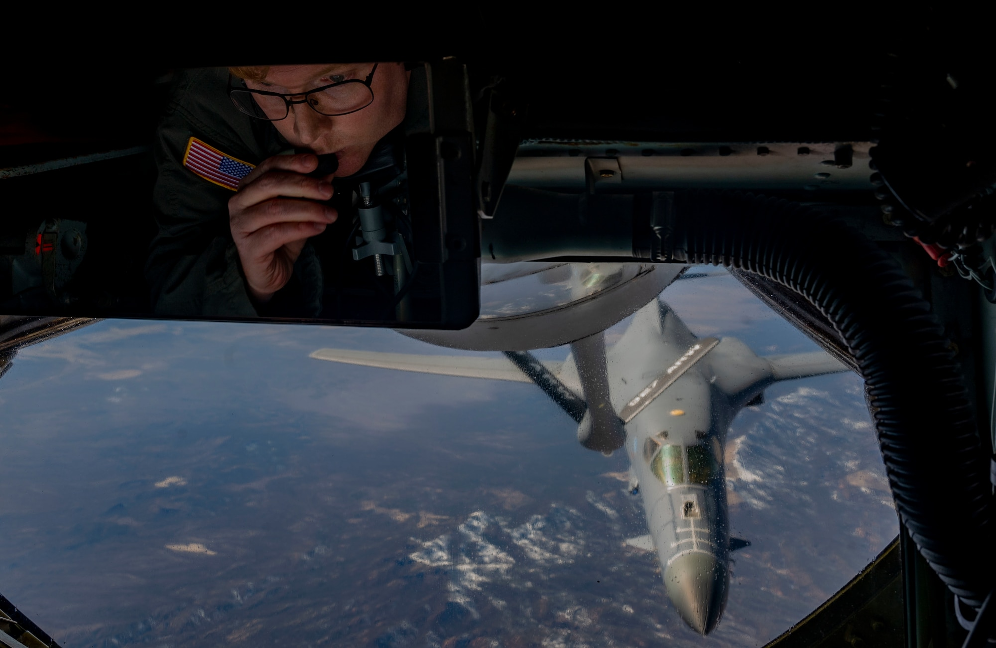 Plane refueling in Air