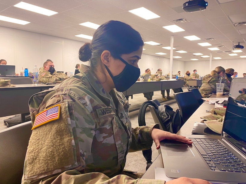 228th Combat Support Hospital Incoming Soldier