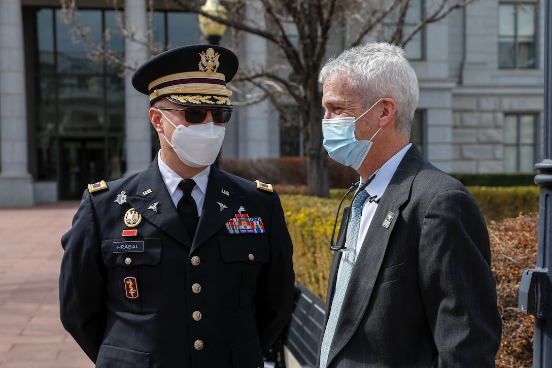 Dr. John Mitchell Commissions to the Army Reserve