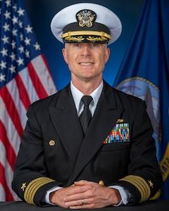 Studio portrait of Capt. Mike Desmond.