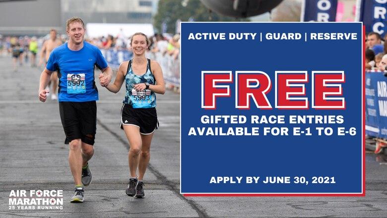 Air Force Marathon Gift Registration
