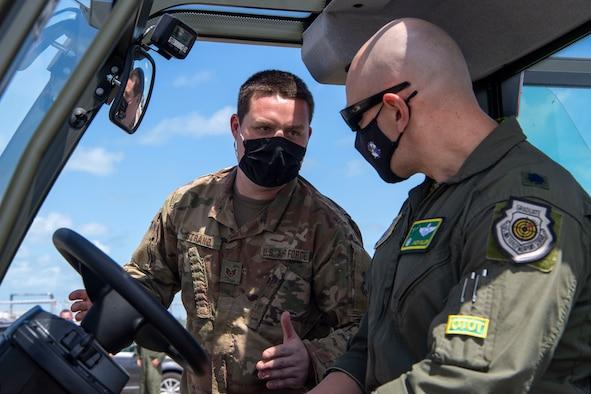 Airmen receives hands on training
