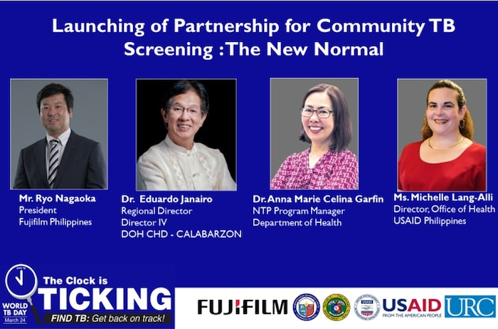 USAID, DOH and Fujifilm Partner to Introduce Portable Chest X-Ray Machine to Screen Tuberculosis