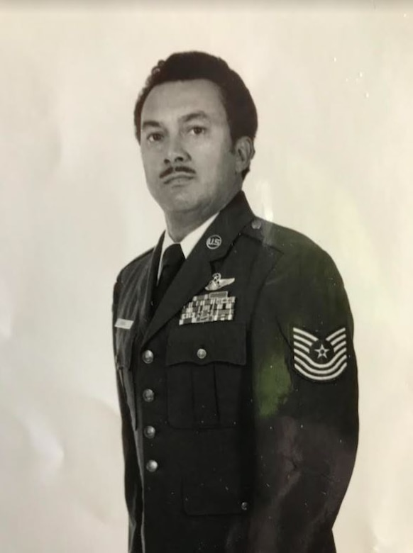 """Master Sgt. Albert Monroe poses near the end of his military career in the 1980s. Monroe recently wrote """"My Unbelievable Journey: The Story of an Air Force Air Crewman,"""" a book covering his military service from 1963 to 1985. Much of his time in the service was spent at Travis Air Force Base, California. (Courtesy photo/Albert Monroe)"""