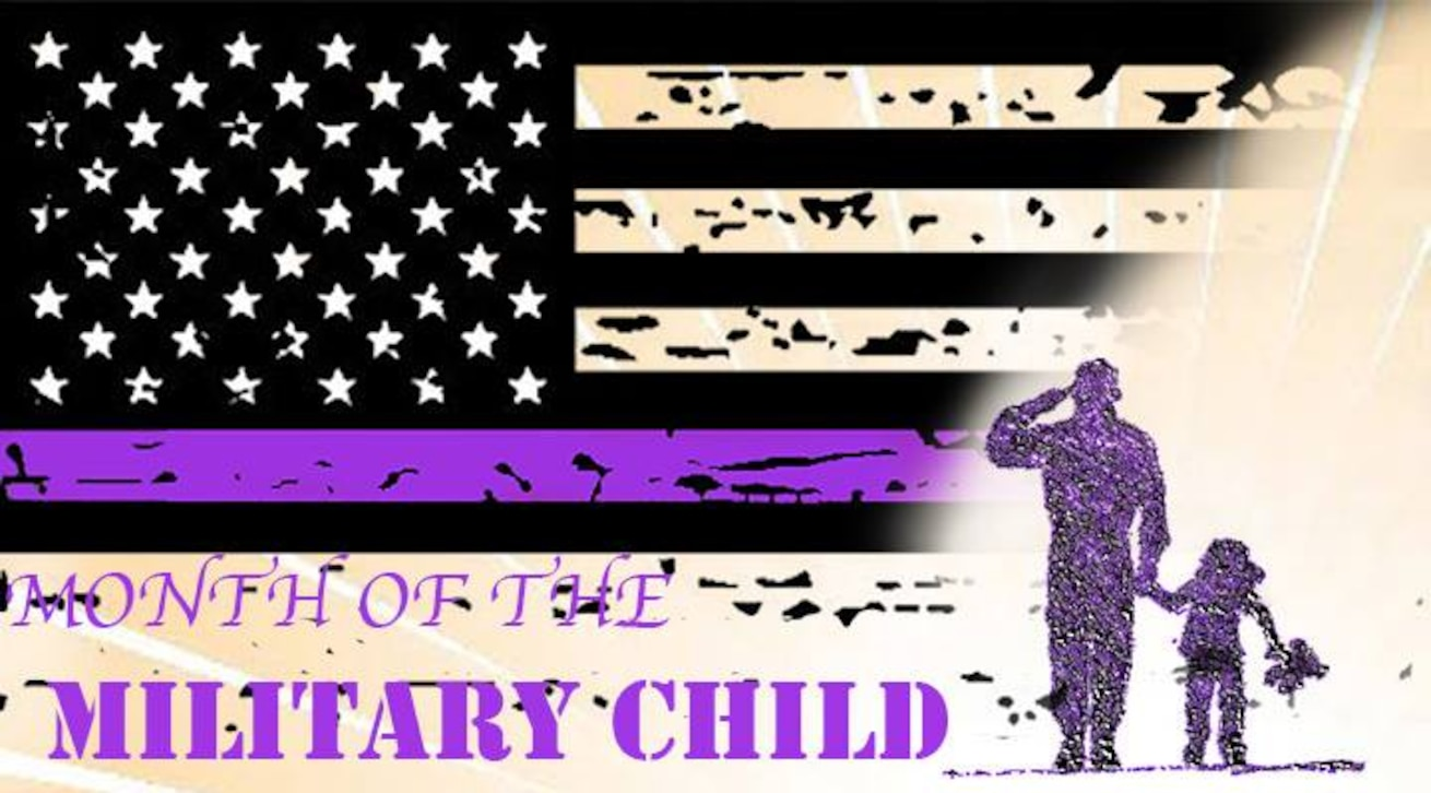 April is month of the Military Child.  To celebrate, virtual events and weekly activities will be held throughout the month of April.