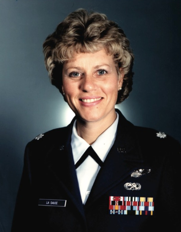 Kathy La Sauce didn't blaze trails during her 20-year Air Force career. She scorched them.