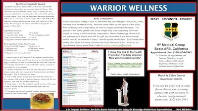 Warrior Wellness Flyer