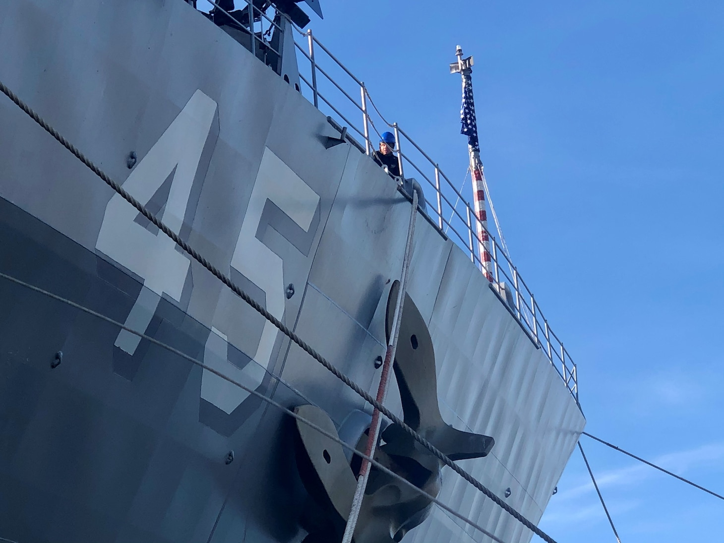USS Comstock Returns from Deployment