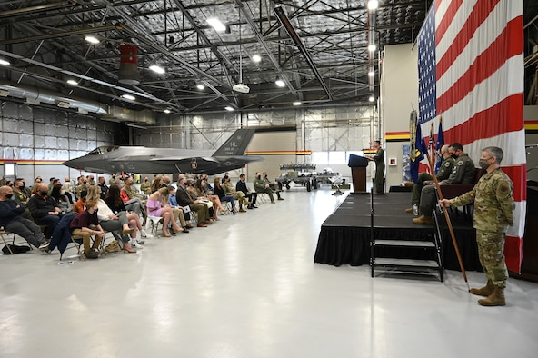 388th Operations Group change of command