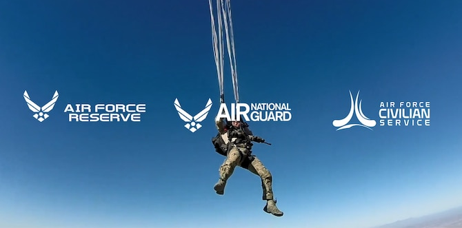 The Air Force Recruiting Service is releasing its first Total Force commercials to help inform the public of opportunities to serve in the United States Air Force, Air Force Reserve and Air National Guard, as well as Air Force Civilian Service.