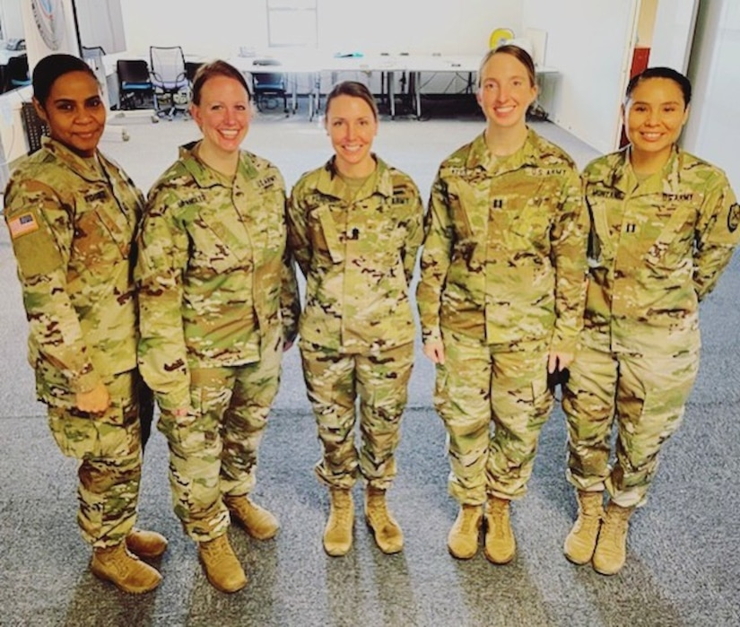 124th CPB first VNG battalion with all-female staff