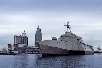 Acceptance Trials for Future USS Oakland LCS 24