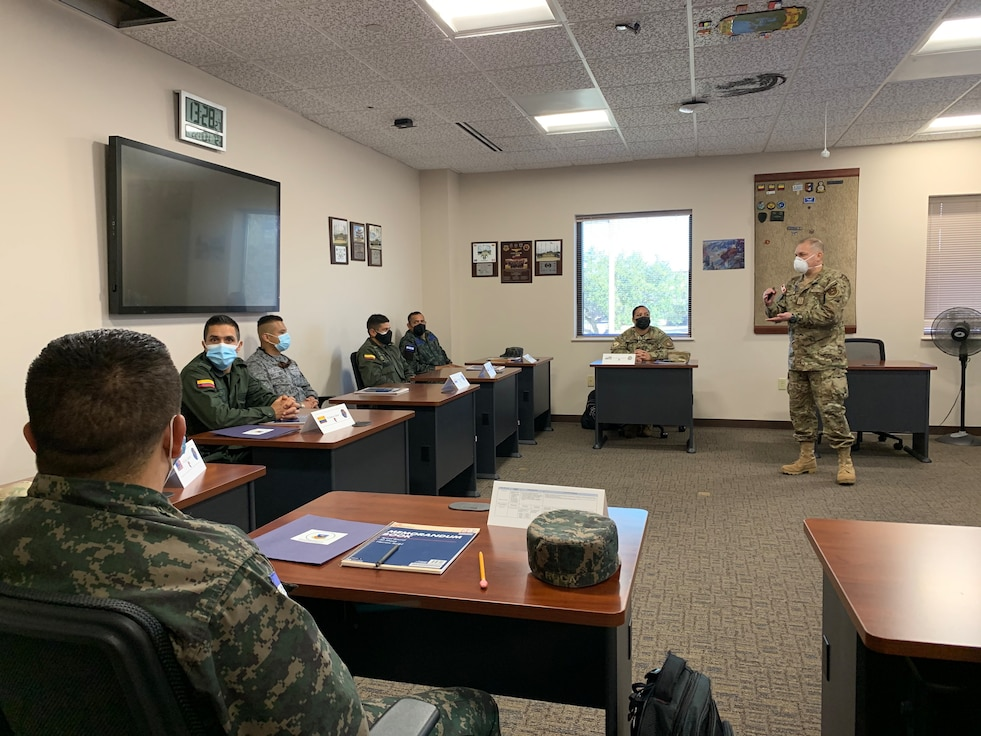 During COVID-19, IAAFA maintained uninterrupted support to partner nations and the 37th Training Wing.