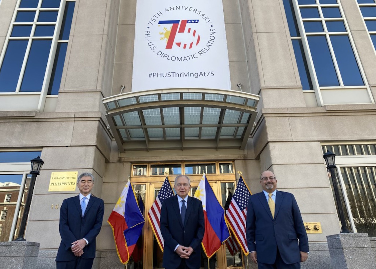 Philippines and United States Celebrate 75 Years of Diplomatic Relations