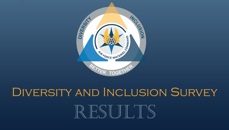 graphic: The Air Force Materiel Command has released the results of its initial command-wide diversity and inclusion (D&I) survey, identifying areas of focus and improvement for initiatives across the command.