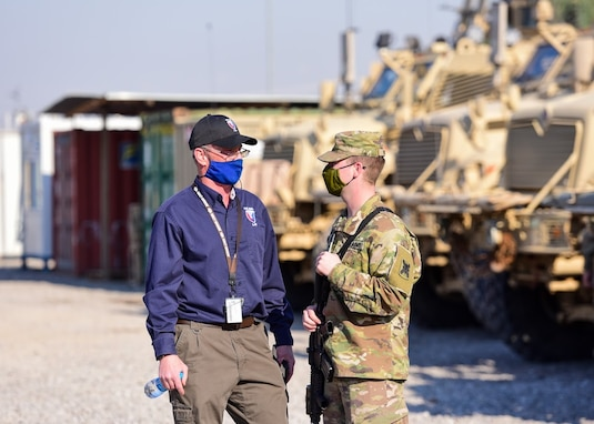 401st AFSB Logistic Assistance Representatives support the military, enhance readiness