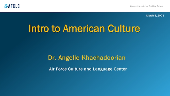 AFCLC Faculty Teach Intro to American Culture to Incoming International Officers