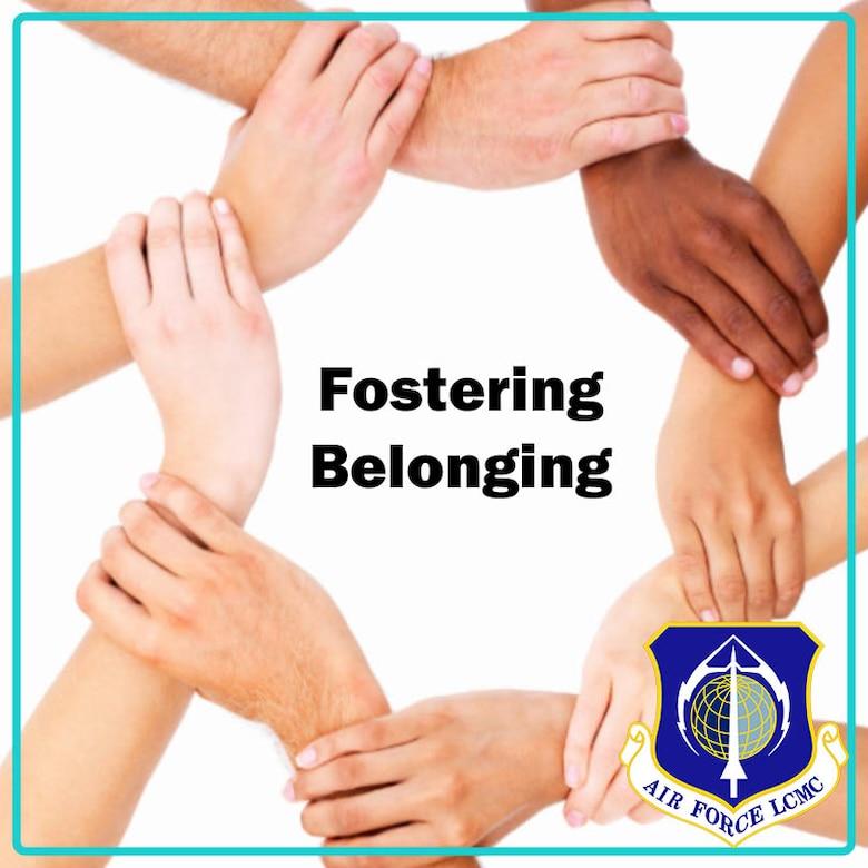 Stock image of belonging poster.