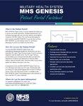 MHS Genesis Patient Portal Factsheet