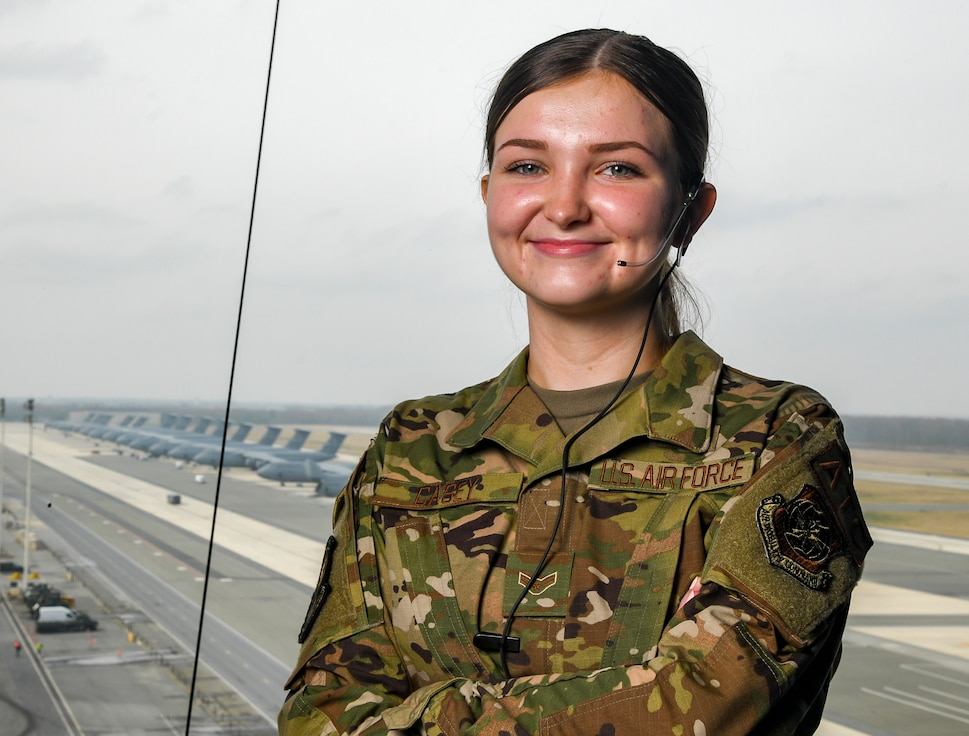 First certified female air traffic controller at Dover AFB in more than two years