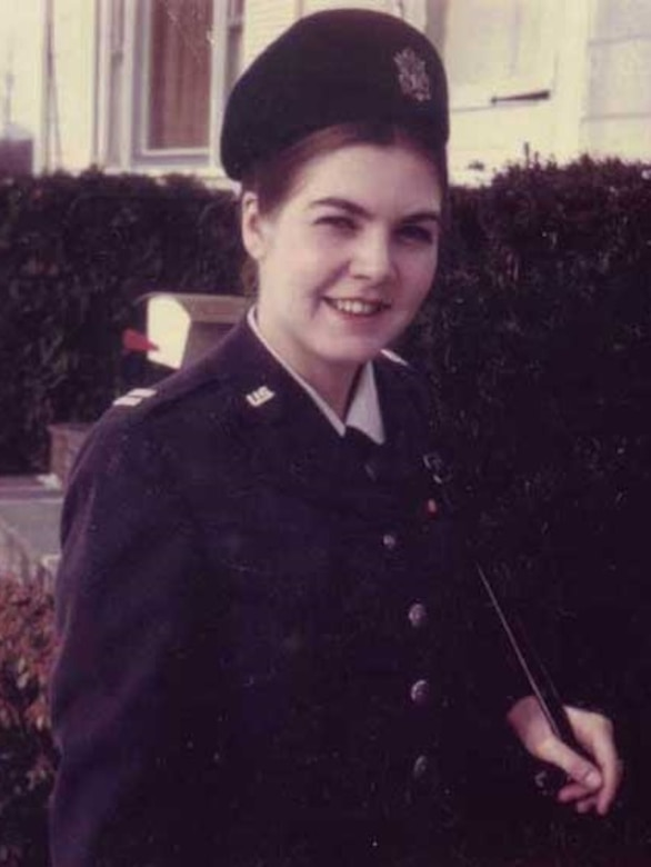 Former Air Force Lieutenant Sharron Frontiero served at Maxwell Air Force Base, Alabama, in the 1970s. (Courtesy Photo)