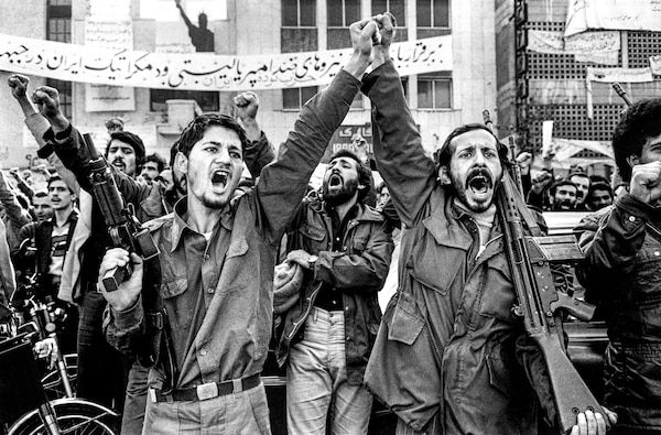 Show of force during Iranian Revolution, 1979