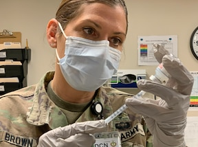 Fort Hunter Liggett administers its first COVID-19 vaccines